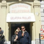 THE OLD BRIDGE GELATO across from the Vatican Museum, the finest in Rome