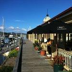 Board walk café