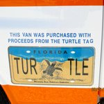 Turtle License Plate