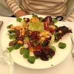 Salad...lovely presentation!