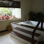 Private jacuzzi in balcony