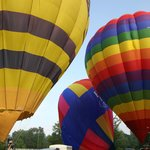 Ballooning with Mandy at her Monticello Country business.