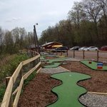 Our 18 Hole Miniature Golf Course