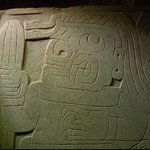 Shaman-Priest holding a Wachuma cactus