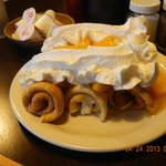 3 rolled pancakes, oh my!
