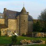 Achterkant kasteel met buitenkeuken