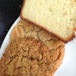 oatmeal raisin, peanut butter and lemon loaf
