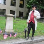 Guide Bob Miller, dispelling the myths surrounding Paul Revere and his midnight ride.