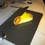 Orange Cheesecake.. AMAZING home made dolce.