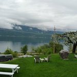 the view over the Kootenay Lake