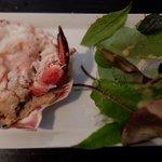 Crab at the Summer Isles Pub