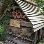 recycled bug hotel