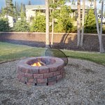 Firepit at each site