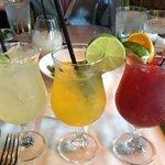 Jalapeno Margarita, Mango Mojito, &  Sangria Red