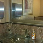 women's bathroom very clean