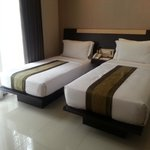 Deluxe Twin View room, Vio Cimanuk