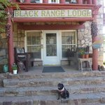 Entrance to Black Range Lodge