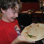 """before"" - kid's taco"