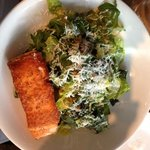 kale salad with scottish salmon