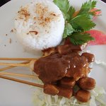 Complimentary Chicken Satay Lunch