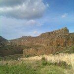 within Dry Falls near Dry Falls Lake