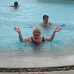 The only wet day - best in the pool!