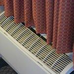Melted plastic grate on HVAC unit