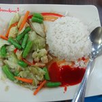 veg food in chowking