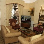 TV Lounge well furnished