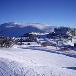 The Summit and village centre Mt Hotham