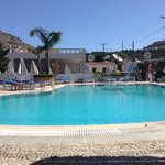Oasis pool bar Pefkos