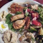 menù vegetariano, antipasti