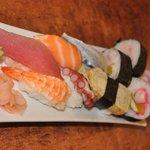 Freshly made Sushi