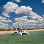 Le catamaran d'Antsanitia resort