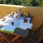 breakfast in the balcony