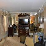 Zimmer mit zwei Kingsizebetten