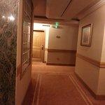 the walkway on 7th floor
