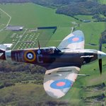 """You really get to """"Fly With a Spitfire"""""""