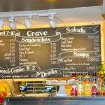 Crave Cafe Menu