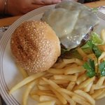 cheeseburger for Php350