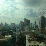 14階の部屋からの眺め
