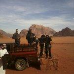 Jeep tour, Wadi Rum