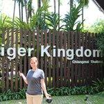 Entrance to Tiger Kingdom, Chiang Mai
