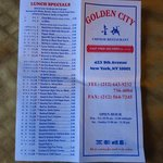 Golden city address and phone