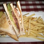 Henry J. Beans Club Sanwich