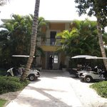 Villas and great golf carts n bikes