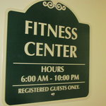 Our fitness center is open!