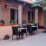 camere patio best western hotel riviera fiumicino roma