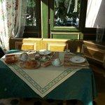 La veranda per la colazione