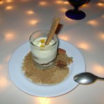 free anniversary dessert shot